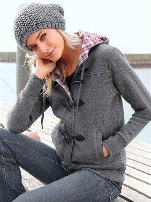 Куртка Boysen's. Цвет: серый (осн.)