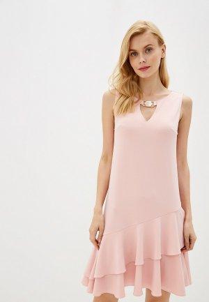 Платье Laete. Цвет: розовый