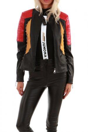 Jacket JUNONA. Цвет: black, red
