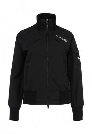 Куртка Lonsdale LO789EWEFI76. Цвет: черный