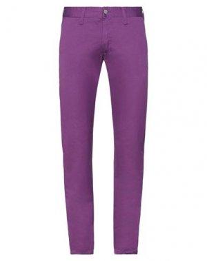 Повседневные брюки EDWIN. Цвет: фиолетовый