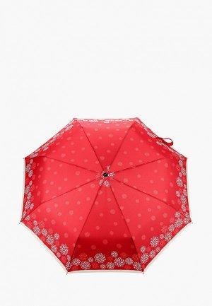Зонт складной Doppler. Цвет: красный