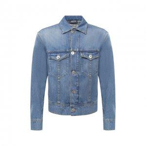 Джинсовая куртка Lanvin. Цвет: синий