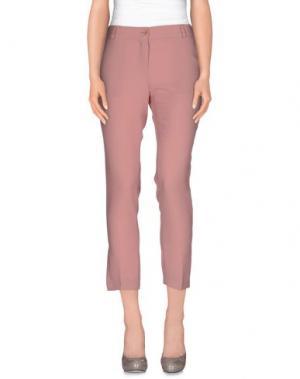 Повседневные брюки FANTASY. Цвет: розовый