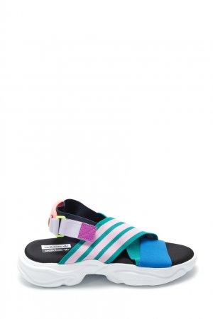 Сандалии с эластичными лентами Magmur Adidas. Цвет: multicolor