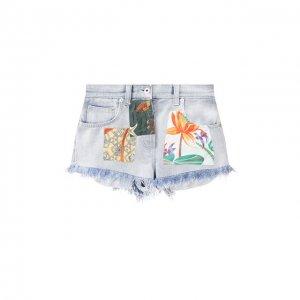 Джинсовые шорты x Paulas Ibiza Loewe. Цвет: синий