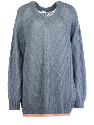 Пуловер Vionnet. Цвет: серый