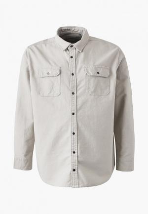 Рубашка Jack & Jones. Цвет: бежевый