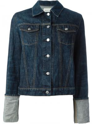 Джинсовая куртка Helmut Lang Pre-Owned. Цвет: синий