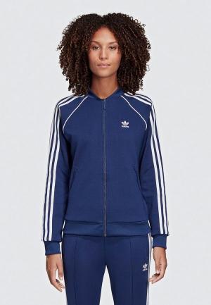 Олимпийка adidas Originals SST TT. Цвет: синий