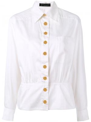 Приталенная куртка рубашечного типа Jean Louis Scherrer Pre-Owned. Цвет: белый