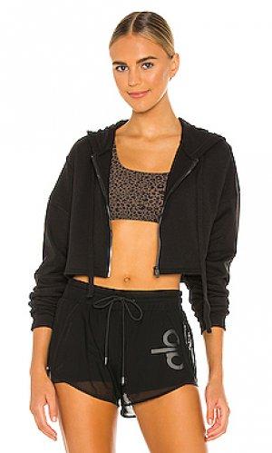 Куртка extreme crop alo. Цвет: черный
