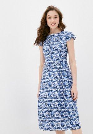 Платье Belucci. Цвет: синий