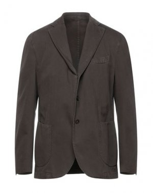Пиджак LA VIE EST BELLE. Цвет: темно-коричневый