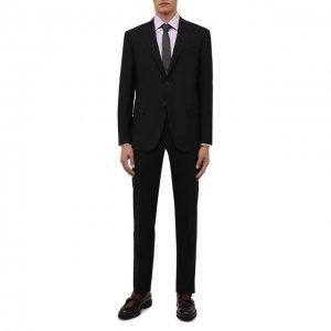 Шерстяной костюм Corneliani. Цвет: чёрный