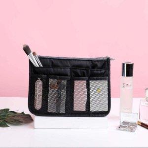 Портативная дорожная сумка для хранения SHEIN. Цвет: чёрный