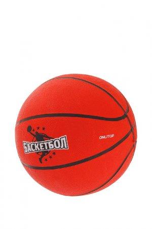 Мяч ONLITOP. Цвет: оранжевый