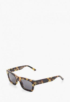Очки солнцезащитные Topman. Цвет: разноцветный