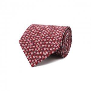 Комплект из галстука и платка Lanvin. Цвет: красный