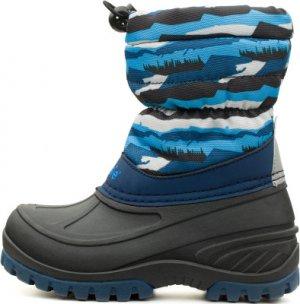 Сапоги утепленные для мальчиков Tundra, размер 25 LASSIE. Цвет: синий