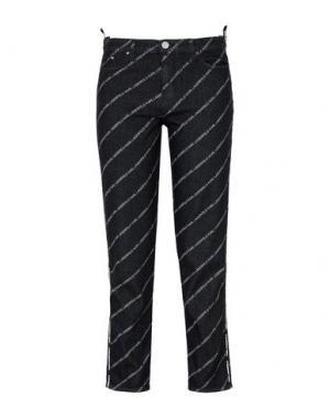 Джинсовые брюки KARL LAGERFELD. Цвет: черный