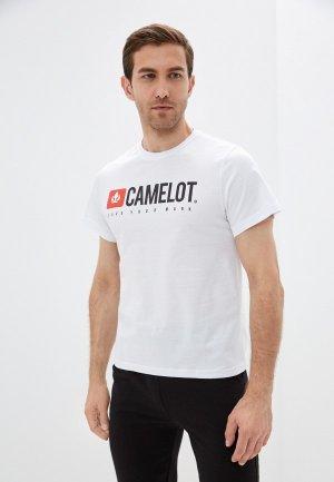 Футболка Camelot. Цвет: белый