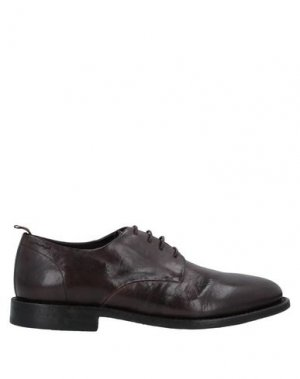 Обувь на шнурках ALEXANDER HOTTO. Цвет: темно-коричневый