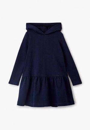 Платье Sly. Цвет: синий