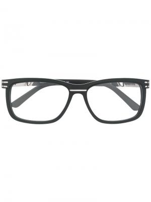 Rectangular shaped glasses Cazal. Цвет: черный