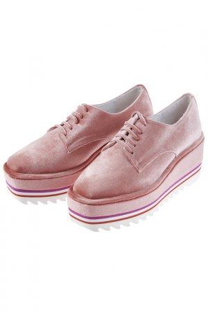 Полуботинки JEFFREY CAMPBELL. Цвет: розовый
