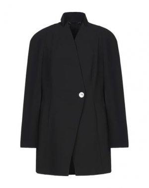 Легкое пальто LES COPAINS. Цвет: черный