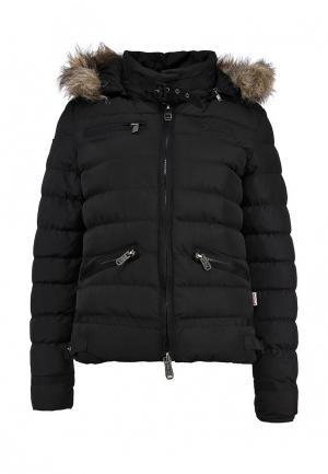 Куртка утепленная Lonsdale. Цвет: черный