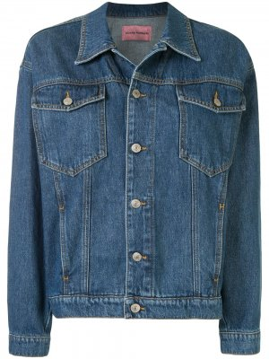 Джинсовая куртка Eye Chiara Ferragni. Цвет: синий