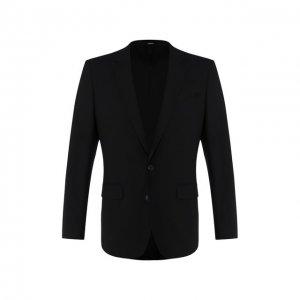 Шерстяной пиджак Kenzo. Цвет: чёрный