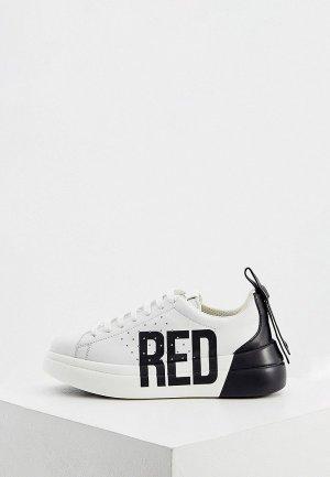 Кеды RED(V). Цвет: белый