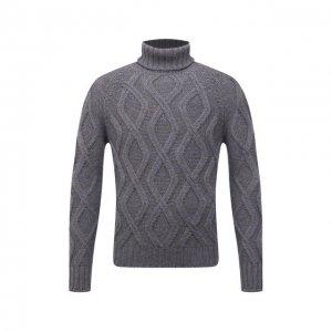 Шерстяной свитер Gran Sasso. Цвет: серый