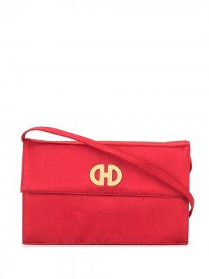 Сумка на плечо pre-owned с логотипом Céline. Цвет: красный