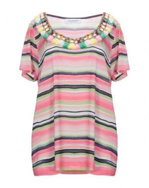 Блузка ANNA RACHELE. Цвет: розовый