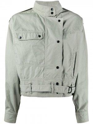Куртка оверсайз Isabel Marant Étoile. Цвет: зеленый
