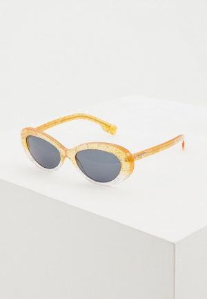 Очки солнцезащитные Burberry BE4278 376587. Цвет: бежевый