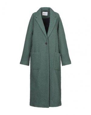 Пальто AMERICAN VINTAGE. Цвет: зеленый