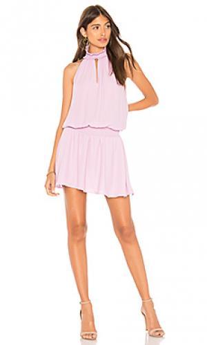 Платье kimmie Amanda Uprichard. Цвет: бледно-лиловый