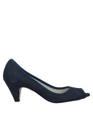 Туфли ALBERTO BRESSAN. Цвет: темно-синий