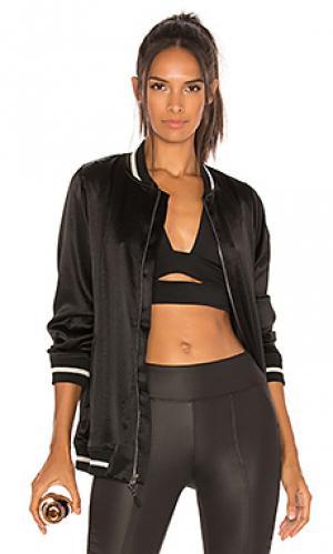 Куртка бомбер base KORAL. Цвет: черный