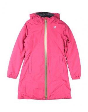 Куртка K-WAY. Цвет: пурпурный
