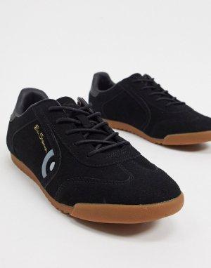Черные кроссовки в стиле ретро -Черный Ben Sherman