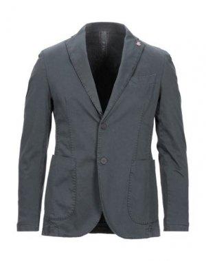 Пиджак FAG. Цвет: свинцово-серый