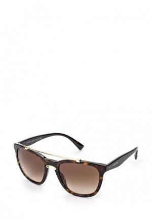 Очки солнцезащитные Valentino VA4002 500213. Цвет: коричневый