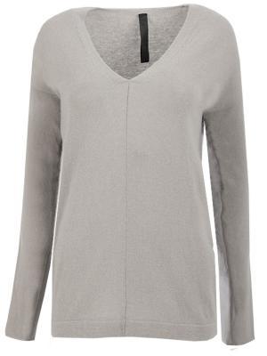 Шерстяной пуловер Ilaria Nistri. Цвет: серый