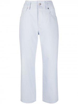 Sofie Dhoore cropped straight-leg trousers D'hoore. Цвет: синий